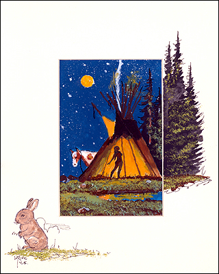 """Birdwing`s Tipi"" by William T. Zivic"